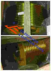 Thyssenkrupp Rope Pulley Assy 200361401
