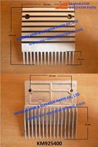 KONE Replaced by KM925400  Comb Plate 122 MM 15 DTS UB/A9