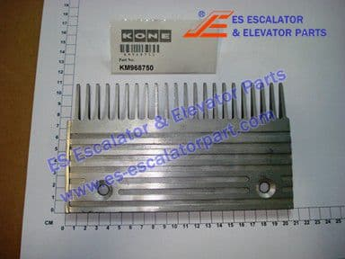 KONE KM968750 COMB TRAVELATOR ALUMINIUM LEFT