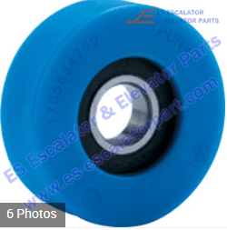 Thyssenkrupp Escalator Parts Roller And Wheel NEW 1705060100