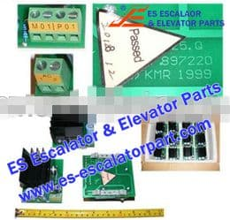 Escalator Part 897220 Switch and Board
