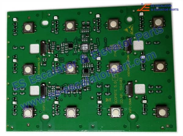 Schindler 9300 Elevators 594103 COP Button Board