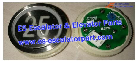 SJEC A4N18639 Button