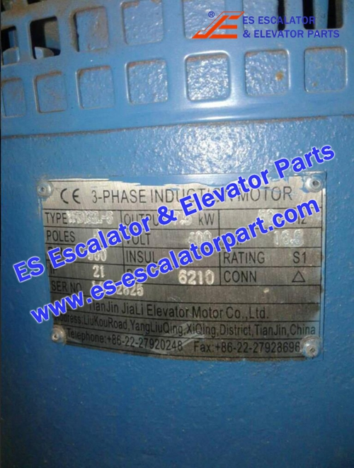 Elevator Part 14112825 3-Phase induction motor