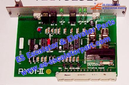 KONE Escalator Part DEE1752322 Switch and Board