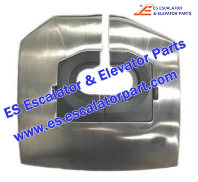Thyssenkrupp Escalator parts 1352534501 Handrail Inlet Stainless Steel