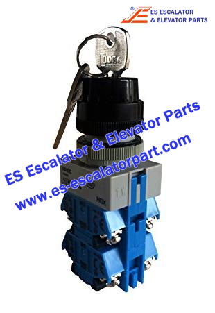 OTIS Escalator Parts DAA177NPJ1 Switch with key 3 position