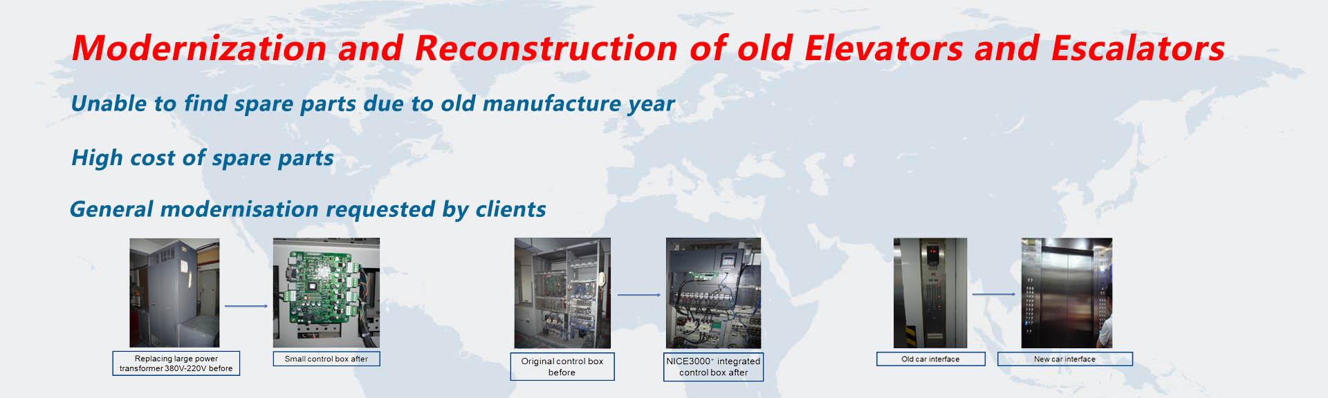 ES Escalator & Elevator Parts - Escalator Parts | Elevator Parts