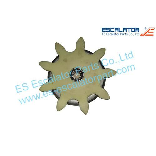 ES-OTP87 OTIS Wheel Gear  GAA195NV1