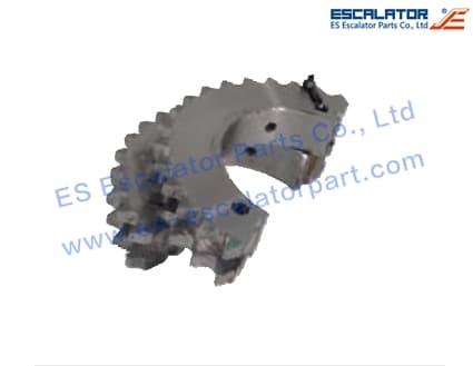 ES-SC386 Schindler Handrail Drive Chain Sprocket SMK405151