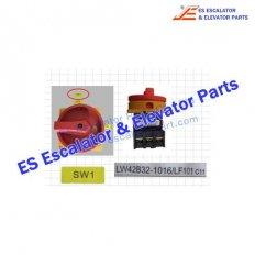 Fujitec Controls LW42B63-1016/LF101