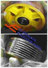 Thyssenkrupp Rope Pulley Assy 200029283