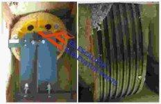 Thyssenkrupp Deflection Pulley Assy 330007001