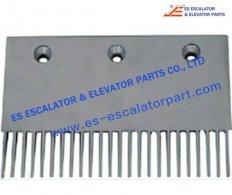 Thyssenkrupp Orinoco FSP692 Comb Plate 204X127mm 24T Aluminu