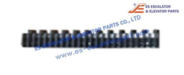 Demarcation Strip 47332155A ABS Black