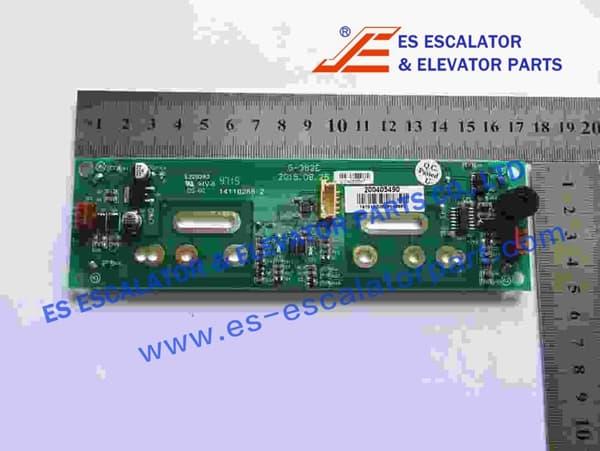 Thyssenkrupp Touch button panel 200405490