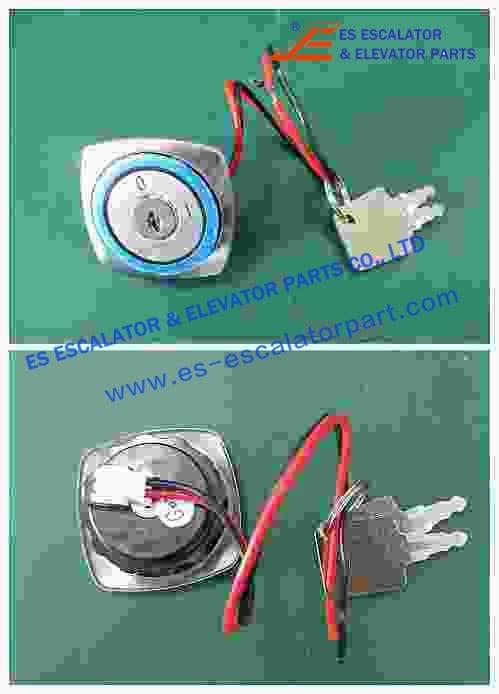 Thyssenkrupp Key Switch 330025516