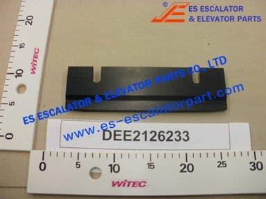 DEE2126233 STRIP 240X68MM PE BLACK SW