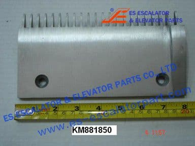 KONE KM881850 Comb Plate  RIGHT EXTRUDED TOOTH ALUMI