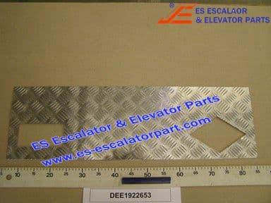 DEE1922653 Comb Plate LINING 244.3X800 NZ 1916671