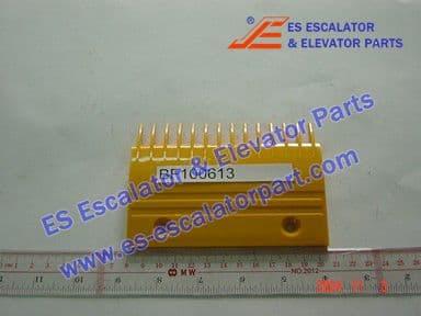 KONE BF100613 Comb Plate YS013B578 YELLOW