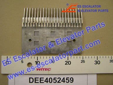 DEE4052459 Comb Plate-WALKWAY(CENTRE)SILVER