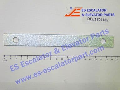 DEE1704135 BRACKET 190X20X3MM FE ZN8B S235JRG2