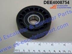 KONE DEE4008754 ROLLER D75/20MM W23.5MM
