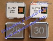 ESHitachi DL-POB button STST.