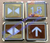 ESHitachi DL-POB button Golden
