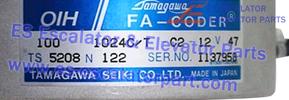 ESHitachi TS5208N122 encoder