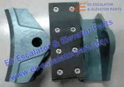 14E brake shoe brake block machine brake lining