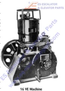 OTIS 207AR2 Machines Bearing Top of Motor 2.8 in. OD Post 1951
