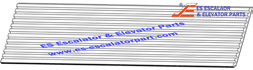 OTIS 457BY7 457BY9 Comb Plates/Flo Escalator Parlates Floor Plate