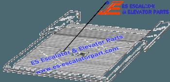 OTIS GAA102ADS2 Comb Plates/Floor Plates