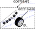 OTIS GO9703AF2 Rollers