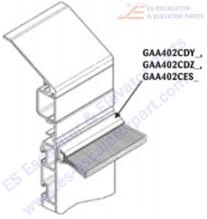 OTIS GAA402CES2 Safety Devices