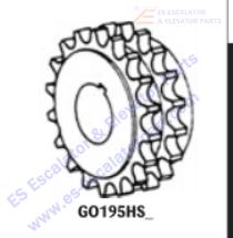 OTIS GO195HS7 Sprockets–Pulleys–Sheaves