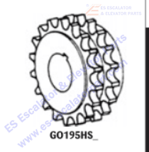 OTIS GO195HS4 Sprockets–Pulleys–Sheaves