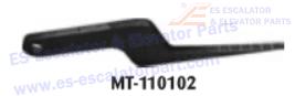 OTIS MT-110102 Comb Plate Feeler Gauge