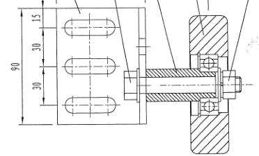 HYUNDAI S613D944 Roller