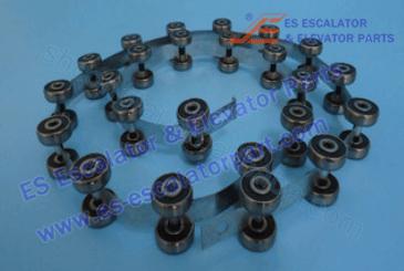 Thyssenkupp Escalator Parts Roller And Wheel NEW 1737525800