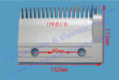 Escalator 22501788 Comb Plate
