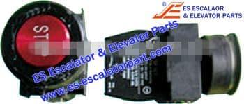 Escalator DEE2744853 Button