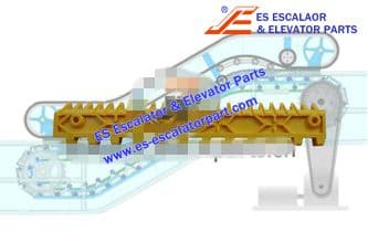 Escalator Part 645B028H05 Step Demarcation NEW