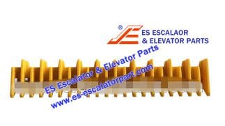 Escalator Part 645B028H06 Step Demarcation NEW