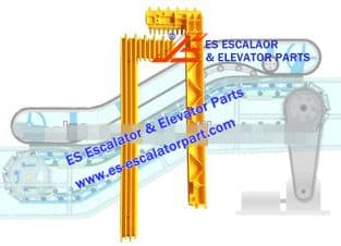 Escalator Part BTDM4002 Step Demarcation NEW