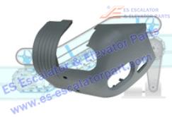 Escalator Parts Handrail Inlet 0156CAJ