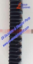 Escalator Part L57332118B Step Demarcation NEW