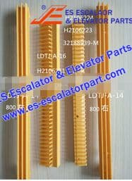 Escalator Part LDTJ-A-14 Step Demarcation NEW